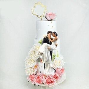 Dekoracje weselne ciasto dekorowanie babeczek wykaszarki nowości na prezent pan młody i panna młoda artykuły do dekoracji na imprezę topper tort weselny