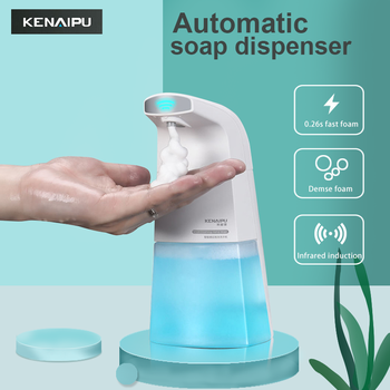 KENAIPU Automatic Foam Soap Dispenser Induction Liquid Hand Washing Machine intelligent foam Touchless Infrared Sensor - discount item  28% OFF Bathroom Fixture