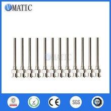 High Quality 12Pcs 1 Inch Tip Length 12G Blunt Stainless Steel Dispensing Needles Syringe Needle Tips Glue Dispenser Needle