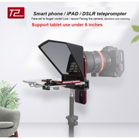 Teleprompter for Canon Nikon Sony Camera DSLR Photo Studio for iPad Smartphone Interview Teleprompter Video Camera