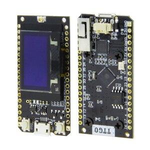 LILYGO®TTGO LORA32 868/915 МГц ESP32 LoRa OLED 0,96 дюймов дисплей Bluetooth WIFI ESP32 фотомодуль с антенной