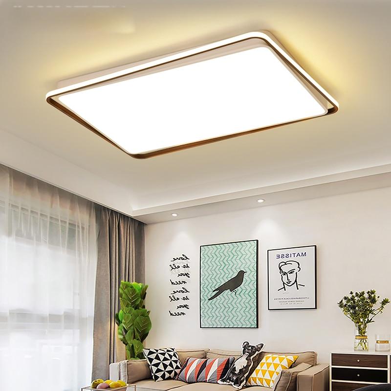 Ceiling Led Lamps Modern Room Living Room Ceiling Lamp Modern Living Room Lamps Rectangular Nordic  Atmosphere