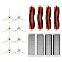 Cepillos laterales/cepillos principales/filtros HEPA para Xiaomi Vacuum 2, para Roborock S50 S55 S6, piezas de reemplazo de aspiradora, accesorios
