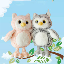Cute Owl Plush Toys Lovely Baby Kids Appease Soft Animal Pillow Dolls Stuffed Birthday Christmas Present for Kid Toy 30-50cm