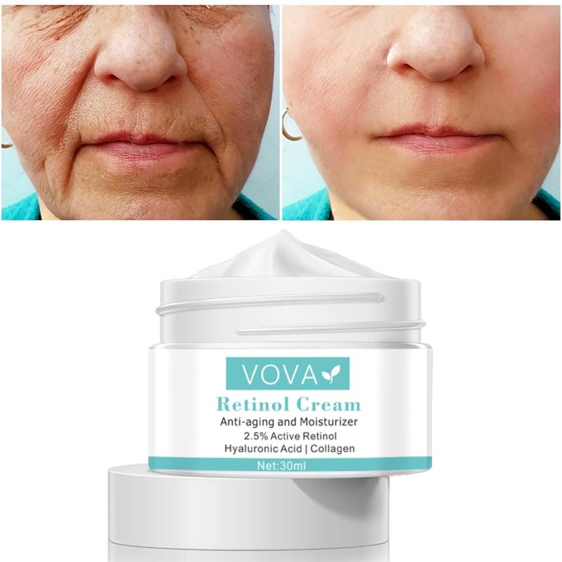 2.5% Retinol collagen anti-wrinkle whitening cream hyaluronic acid moisturizing anti-aging nourishing Face serum skin care