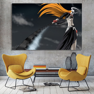 Aesthetic Anime Wall Bleach Poster HD Prints Modular Pictures Canvas Painting Home Decoration For Living Room Framework