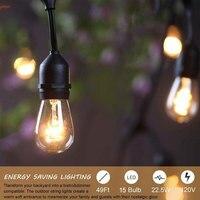Oferta https://ae01.alicdn.com/kf/H4fdce5a24bb84d6e8df33b4d9d57e9fcd/24V de grado comercial Patio globo luces bombillas 10LED al aire libre impermeable para la decoración.jpg