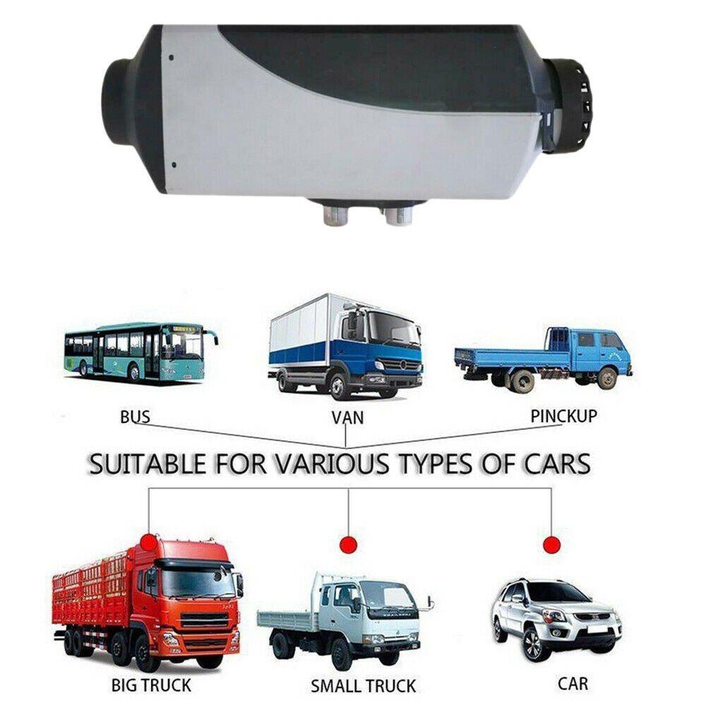 Renoster Riscaldamento Planare 12V 5KW Aria Diesel Auto Riscaldatore Ad Aria Diesel Riscaldatore Riscaldatore di Parcheggio per Auto Camion Autobus camper Van - 6
