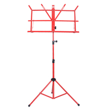 Hot Sale Lightweight Sheet Metal Music Stand Holder Folding Foldable with Waterproof Carry Bag Guitar Parts & Accessories jdr lightweight metal tripod music stand sheet folding music holder for instrument books with waterproof carry bag black