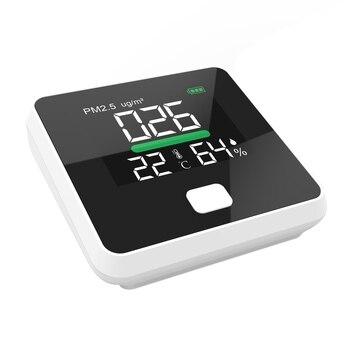 PM2.5 монитор качества воздуха цифровой детектор газа лазерное рассеивание температуры воздуха анализатор влажности Датчик PM 2,5 Анализатор м...