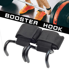 Fitness Accessories Weight Lifting Training Gym Hook Grips Straps Gloves Wrist Support Per Polso