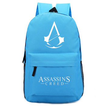 Assassin's Creed Backpack Foreign Trade School Bag A Generation Of Fat School Bag Wholesale Order Do