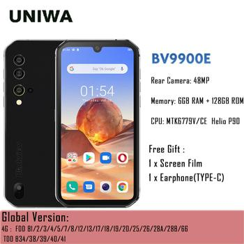 Blackview BV9900E Helio P90 IP68 Waterproof Rugged Smartphone 6GB+128GB NFC Android 10 Mobile Phone 4380mAh 48MP Camera In Stock original android 10 0 mobile phone blackview bv6300 pro helio p70 6gb 128gb smartphone 4380mah nfc ip68 waterproof rugged phone