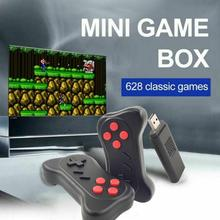 New Video Game Console 2.4G Wireless Game Controller Built-in 620 Games Retro TV Game Stick Support Two-player Games