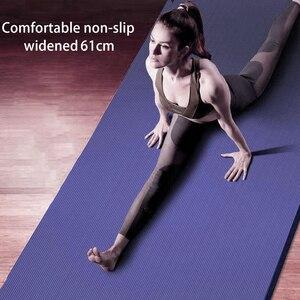 Image 1 - 183*61*1.5cm מחצלות יוגה עם גוף קו עבה חמה יוגה פילאטיס התעמלות מחצלות כרית איזון כושר מתקפל החלקה מחצלת תרגיל