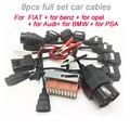 Автомобильные кабели super для TCS Pro PLUS OBD2 автомобильный диагностический интерфейс инструмент Диагностический адаптер полный комплект 8 шт. ав...