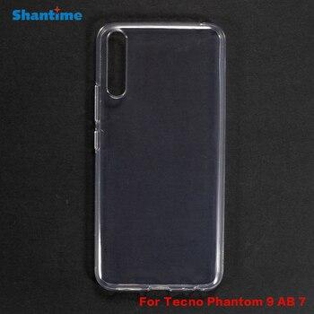 Перейти на Алиэкспресс и купить Для Tecno Phantom 9 AB 7 гелевый силиконовый защитный чехол для телефона Tecno Phantom 9 AB 7 Мягкий ТПУ чехол
