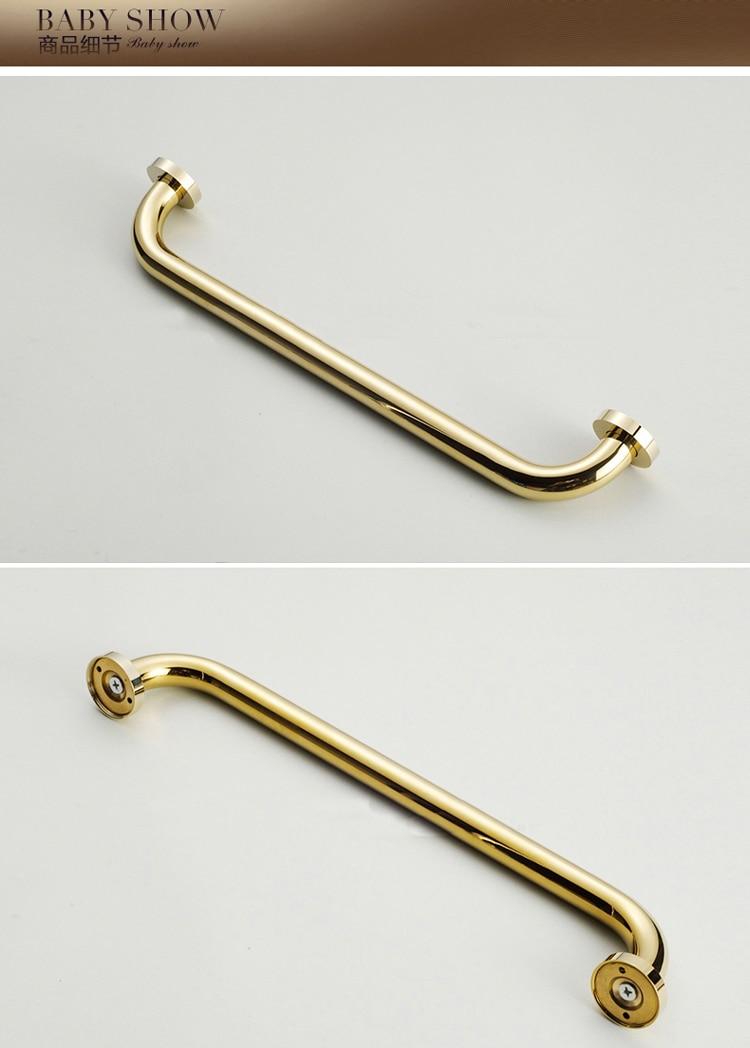 H4fdef6a2b2074aa99e63a6075e0f5d0bs - Vidric 4 colors Bathroom armrest brass, bathroom handle bathtub armrest handrail Grab Bar Gold Hand bar Safety bar