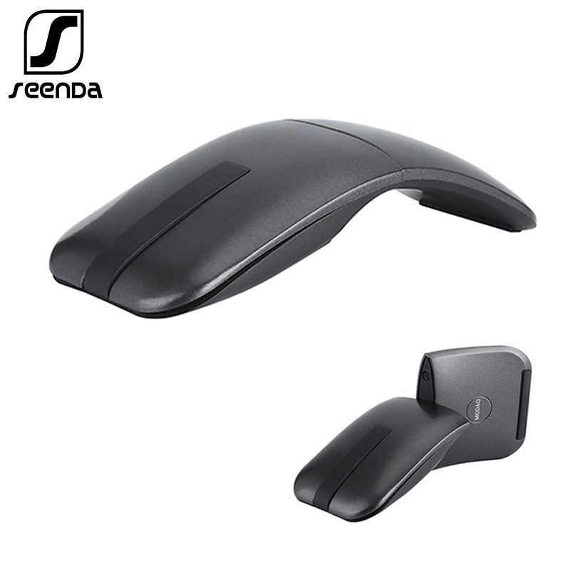 SeenDa Rotating  Wireless Mouse For Microsoft Arc Touch 2 Generation Slim Mouse For Microsoft Surface PC Laptop 2.4G USB Mause