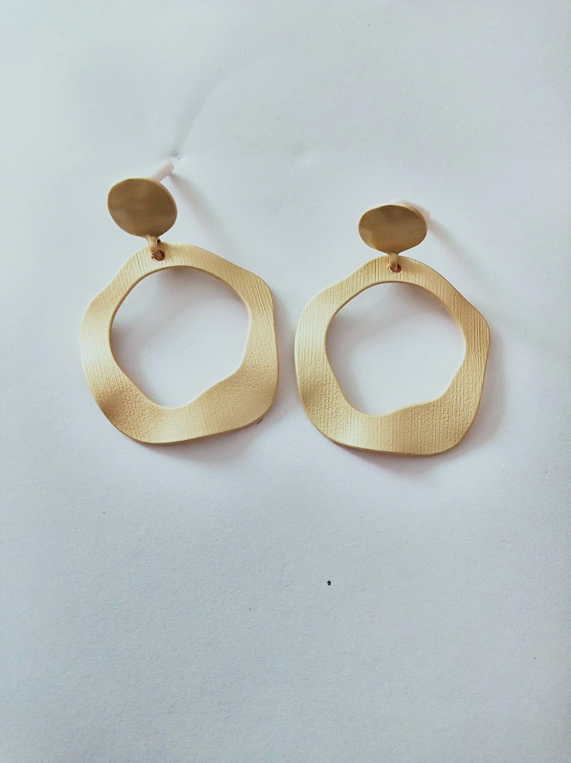 Дизайн модные Висячие Серьги Геометрические круглые блестящие стразы серьги женские ювелирные изделия - Окраска металла: ER242