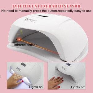 УФ-лампа LKE для ногтей, СВЕТОДИОДНЫЙ УФ-светильник для ногтей, светодиодный Гель-лак для ногтей, инструменты для дизайна ногтей, гелевая лампа для ногтей, быстро отверждаемый Гель-лак