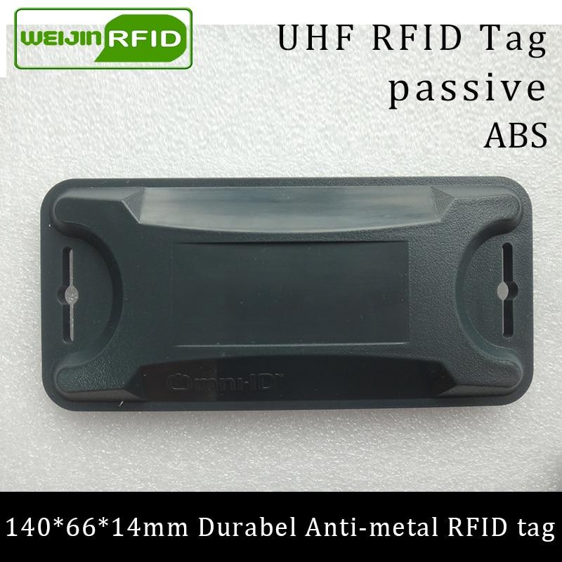 UHF RFID Anti-metal Tag 915mhz 868m Alien Higgs3 140*66*14mm EPC Gen2 6C Durable ABS Long Range Smart Card Passive RFID Tags