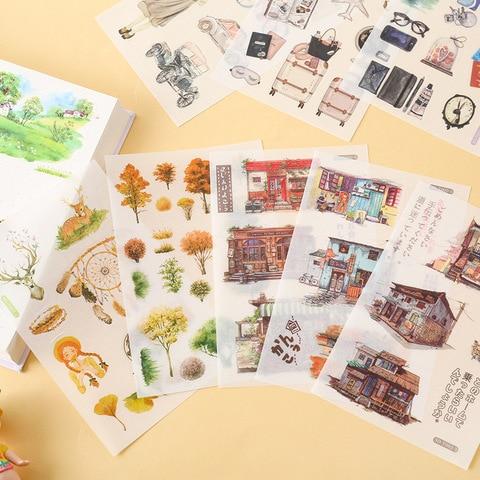 20 jogos lote kawaii papelaria adesivos menina