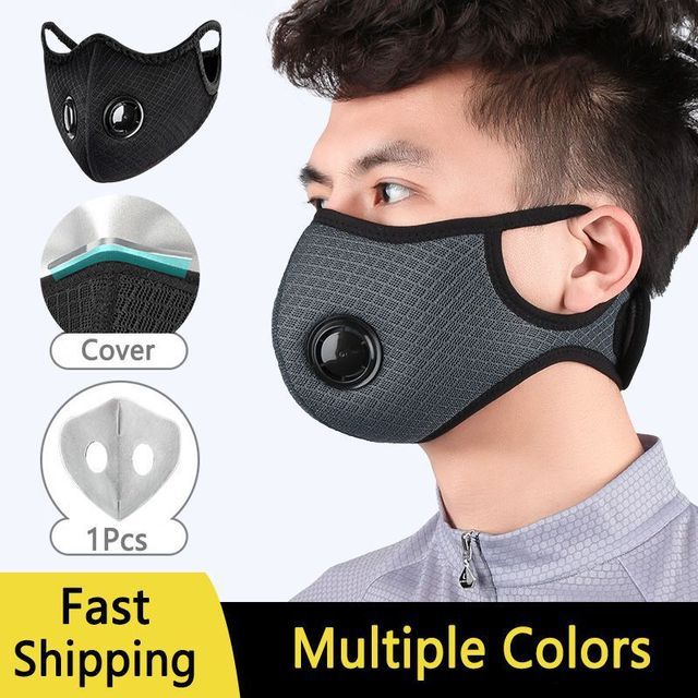 Dust-proof Cycling Face Mask PM 2.5 Sport Face Mask Anti-Pollution Running Training Bike Cycling Mask Washable 1