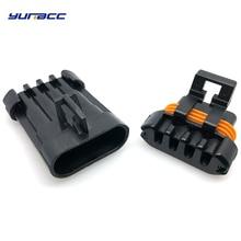 все цены на 2Sets 4Pins Oxygen Sensor Plug O2 Automotive Connector Socket 12162144 12162102 For Toyota BUICK DLX Haima Series онлайн