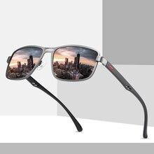 TR90 New Sunglasses Men Polarized Classic Vintage Square Luxury For Man Fishing Woman Sun Glasses Shades UV400 Lens