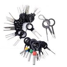 41 pces terminal elétrico do carro agulha plug placa de circuito fiação picareta conector pino extrator remoção removedor ferramenta reparo