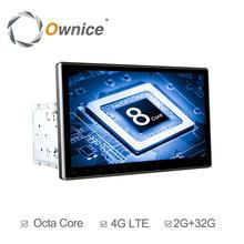 Автомагнитола Ownice K1 K2 2Din, 10,1 дюйма, HD, android 6,0, Восьмиядерный процессор, универсальная стереосистема, DVD-плеер, GPS-навигация, TPMS, 4G, LTE, Carplay