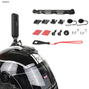 Rod-Mounting-Adapter-Kit Base-Bracket Camera-Accessories Motorcycle-Helmet Insta360 Riding-Extension