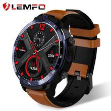 Lemfo LEM12 4G Smart Horloge Gezicht Id Dual Camera Android 7.1 1800 Mah Batterij 1.6 Inch Full Screen Smartwatch 3 Gb 32 Gb Gps Voorverkoop(China)