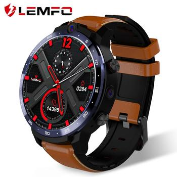 LEMFO LEM12 4G Smart Watch Face ID Dual Camera Android 7.1 1800mah Battery 1.6 inch Full Screen Smartwatch 3GB 32GB GPS