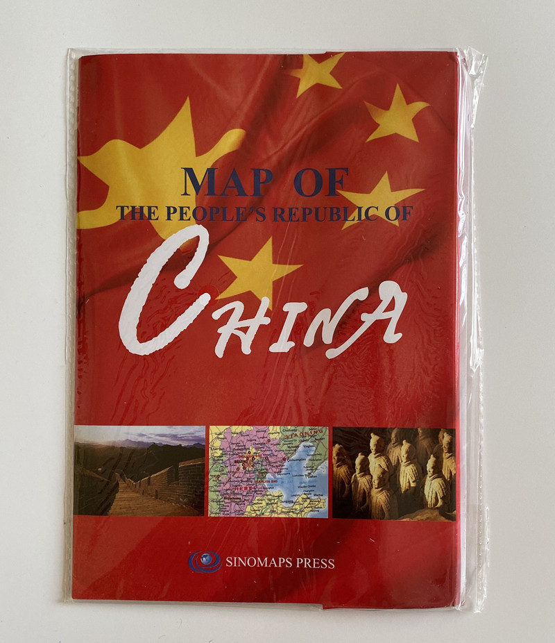 2019 New Map Of The People's Republic Of China( English Version) 1:9 000 000  Map Of China In English