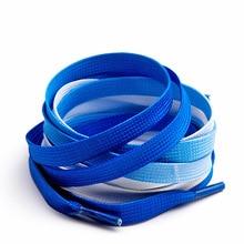 Для мужчин и wo Для мужчин градиентная расцветка; Высота кружево Цвет красочные спортивные белые туфли парусиновая обувь в Корейском стиле;