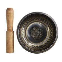 Аксессуар буддизма тибетская медитация молотая миска милостыни Йога Звуковая Терапия Поющая чаша для чакры Новинка
