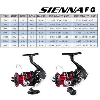 Amazing SHIMANO SIENNA fishing spinning reel 2000/2500/2500HG/C3000/4000 Fishing Reels cb5feb1b7314637725a2e7: 2000|2500|2500HG|4000|C3000
