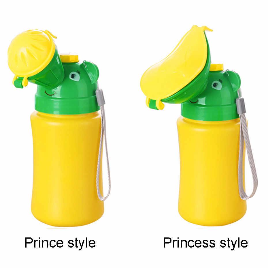Kid Baby Portable Urinal Car Travel Toilet Potty Training Pee