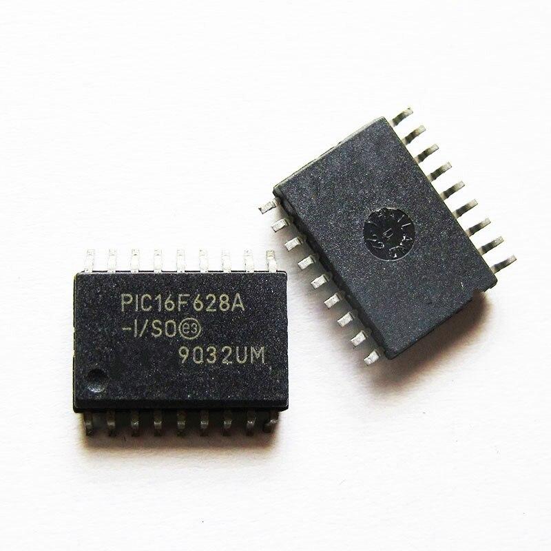 2pcs/lot PIC16F628A-I/SO PIC16F628AISO 16F628A-I/SO PIC16F628A PIC16F628 SOP-18 In Stock