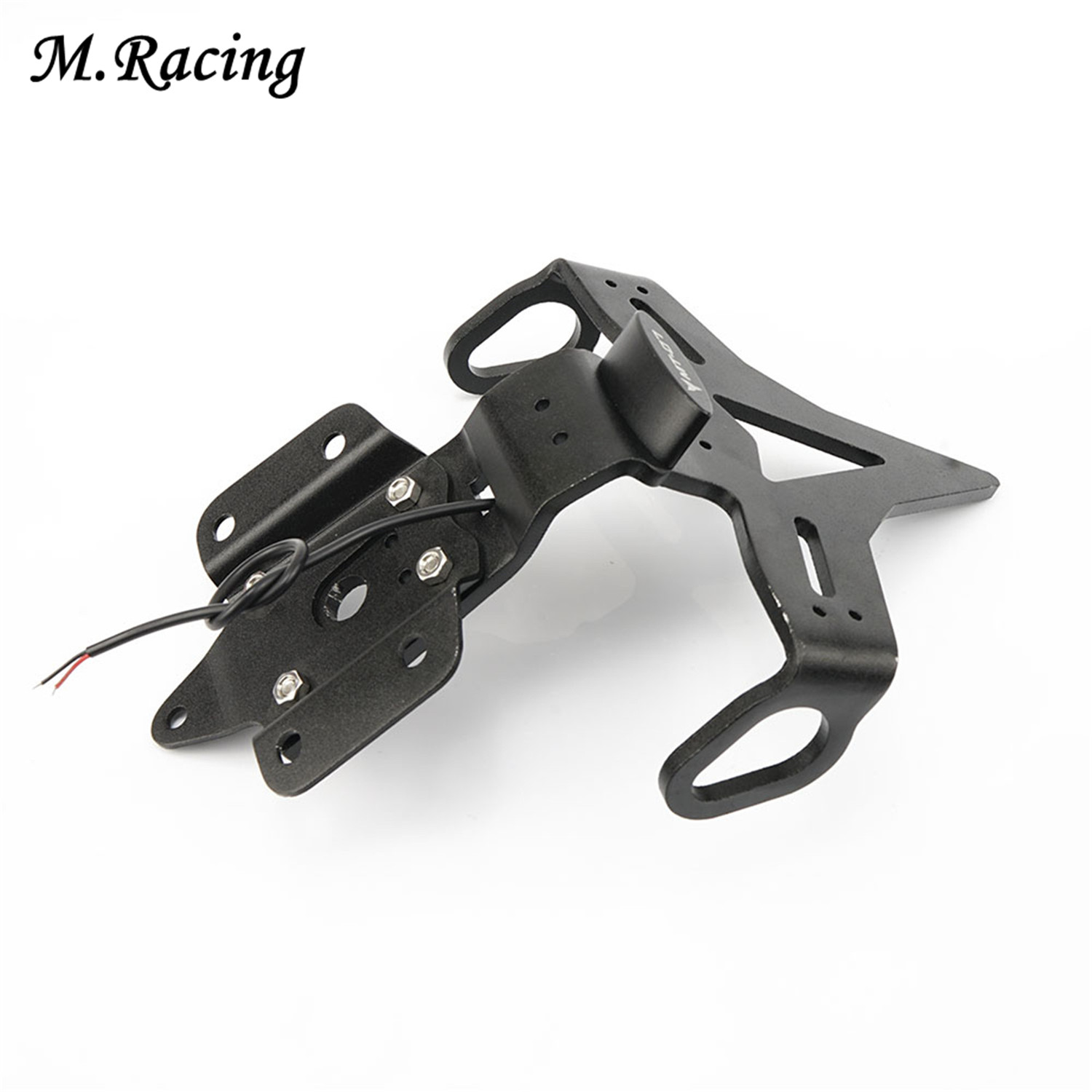 Motorcycle License Plate Holder License Bracket Tail Tidy For Yamaha MT 07 MT07 FZ 07 FZ07 2013 2015 in Covers Ornamental Mouldings from Automobiles Motorcycles