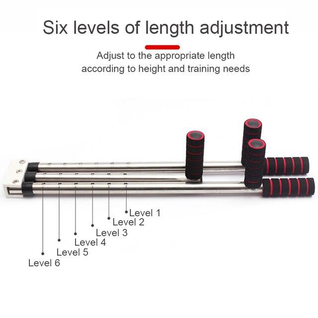 3 Bar Leg Stretcher Adjustable Split Stretching Machine Stainless Steel Home Yoga Dance Exercise Flexibility Training Equipment 6
