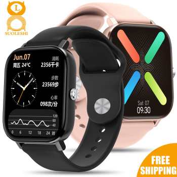2020 HD 1.75 Inch Smartwatch Men full touch Multi-Sport Mode VS P8 Smart Watch Women Heart Rate Monitor For iOS Android 1