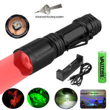 10W Led Flashlight Ultra Bright XML Powerful Usb Torch 4 Color In 1 Multi Color Lantern 18650 Best Camping Fishing Hunting Lamp