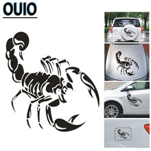 Новинка Светоотражающие 3d наклейки на автомобиль в виде скорпиона