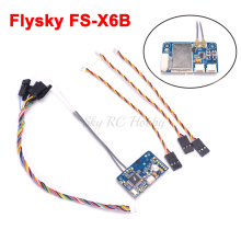 Original Flysky FS-X6B FS X6B 2.4G PPM i-BUS 6CH Receiver For Rc Quadcopter FS-I6X FS-i4 FS-i6 FS-i6S Transmitter