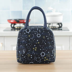 Handbag Lunch-Box-Bag Picnic Lonchera Portable Waterproof Insulated Women Sac Zipper