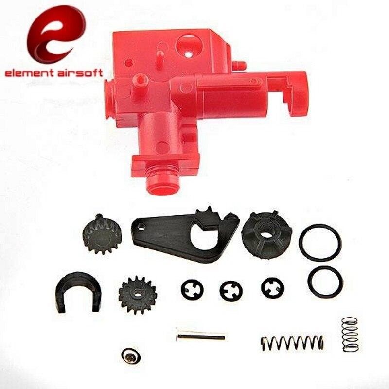 Element Airsoft pistolet M4 M16 obsługi AEG Hop Up gęstości powietrza komory zestaw polowanie taktyczne Softair karabin akcesoria IN0802