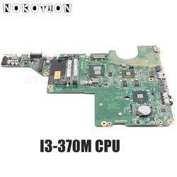 NOKOTION DAAX1JMB8C0 637584 001 do HP Pavilion G62 CQ62 laptopa płyty głównej płyta główna w i3 370M procesora HM55 HD6370M 512MB DDR3 w Płyty główne od Komputer i biuro na